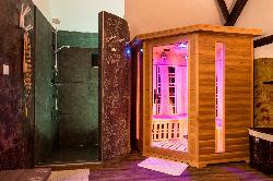 Relaxációs szoba exkluzív minőségű infraszaunával