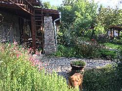 Terasz és kert kapcsolat