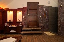 Relaxációs szoba, infraszaunával, bekészítéssel