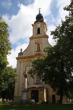 """Plébánia templom - Franz Anton Maulbertsch (1724-1796) freskóival, a """"barokk sixtusi kápolnájaként"""" tartják számon - Sümeg"""